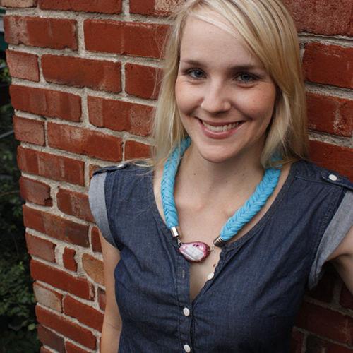 Justine Lalande-Church, lauréate 2015 du PLG, catégorie radio