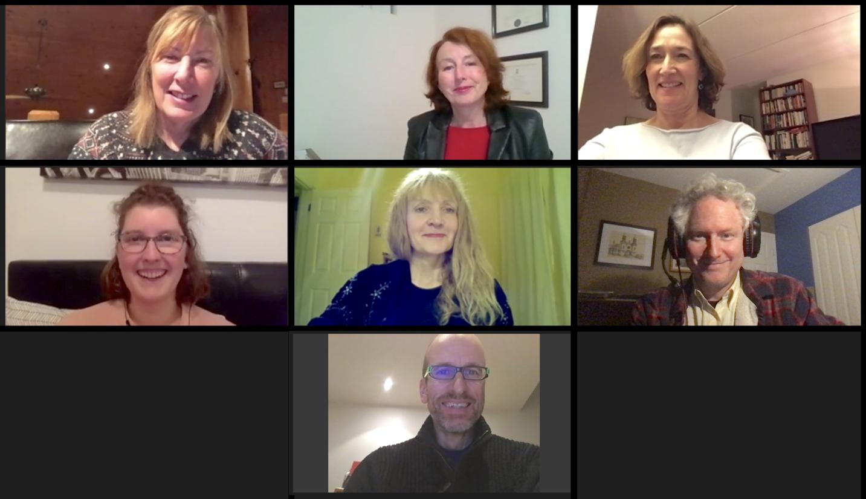 Photo des membres du conseil d'administration 2020-21 du Prix Lizette-Gervais